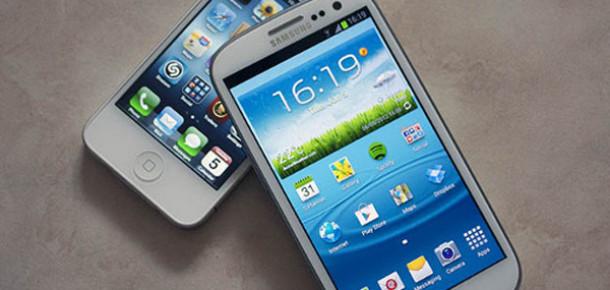 Akıllı Telefon Pazarı Apple ve Samsung'a Çalışıyor
