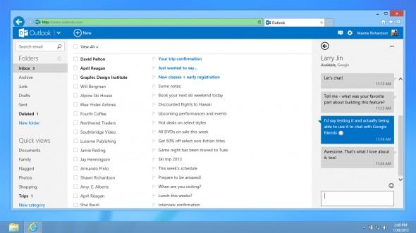 Outlook.com Gtalk