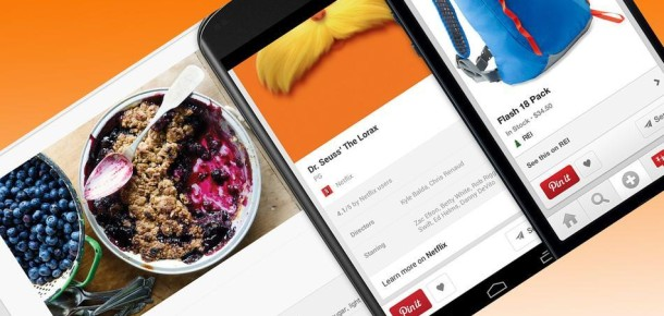 Pinterest Ticarete Soyunuyor, Pinleme Seçenekleri Gelişiyor