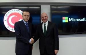 Recep Tayyip Erdoğan - Steve Ballmer