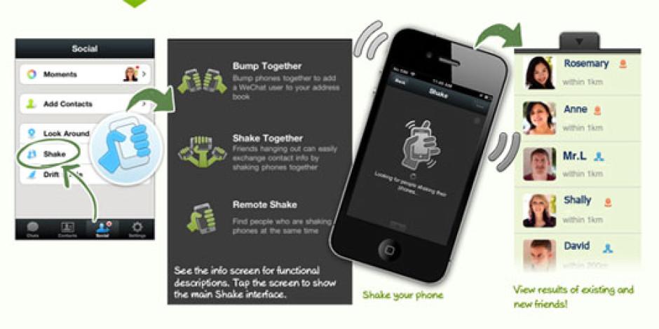 WeChat'in Kullanıcı Sayısı 50 Milyona Ulaştı