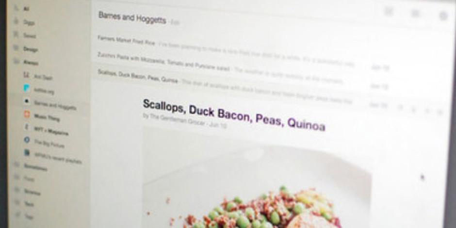 Digg Google Reader Alternatifi RSS Okuyucusunu Tanıttı