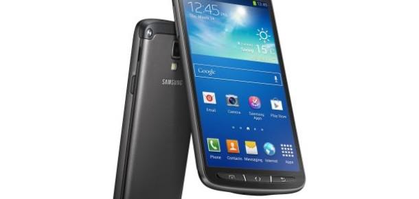 Samsung Su ve Toz Geçirmeyen Galaxy S4 Active'i Tanıttı