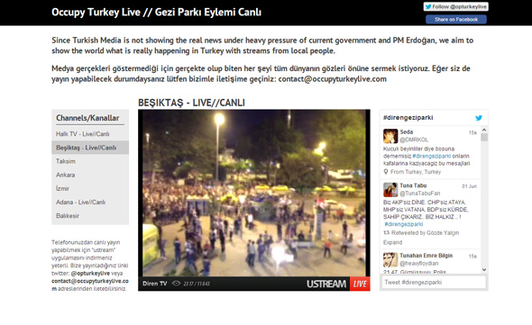 Occupy Turkey Live