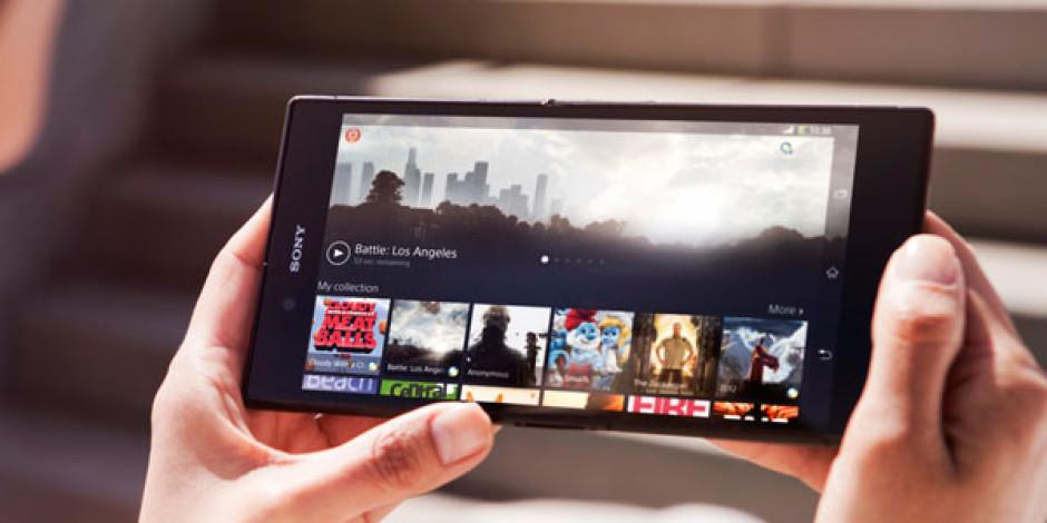Xperia Z Ultra: Sony'den 6.4 İnçlik Dev Akıllı Telefon