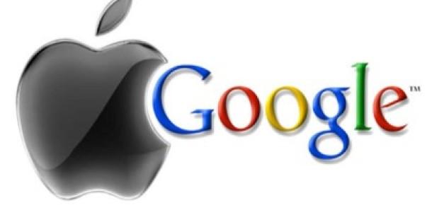 Google Piyasa Değerinde Apple'ı Solladı