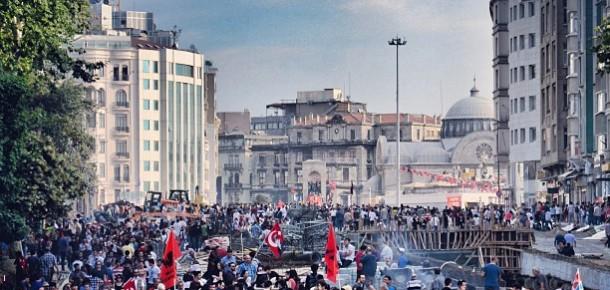 Gezi Parkı Eylemleri Instagram Blog'da