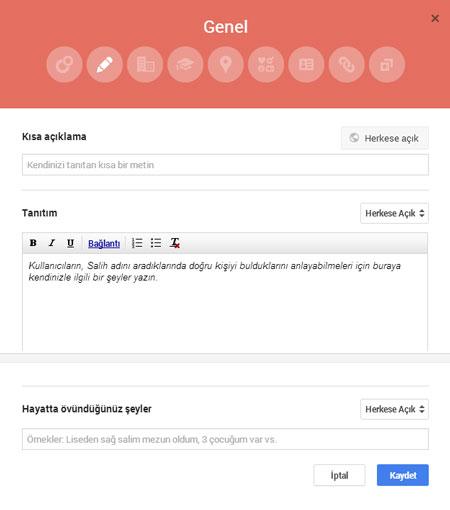 Google+ Hakkında