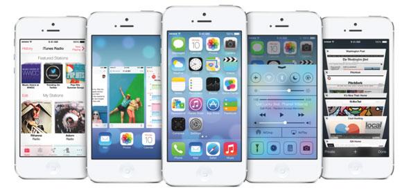 iOS 7 Tasarım