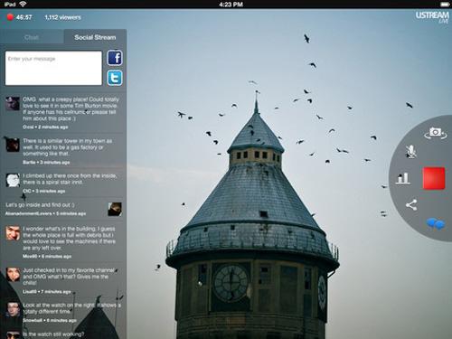 Ustream iPad