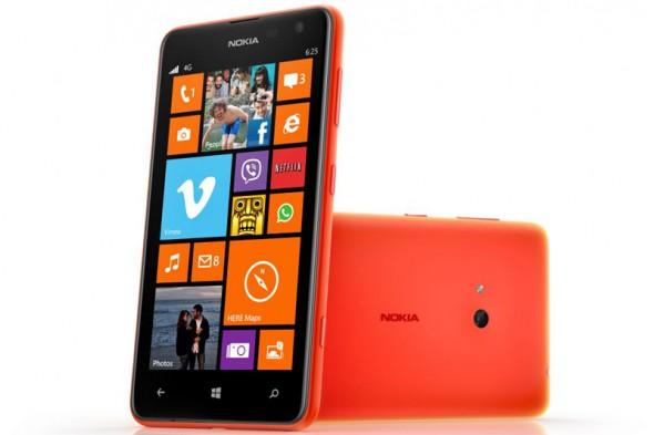 Nokia Lumia 625 akıllı telefon: cihazın özellikleri, seçenekleri ve özellikleri