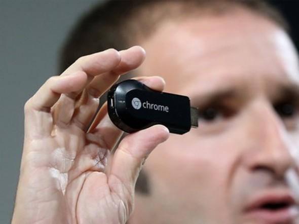 Google'dan TV'lere Kablosuz Görüntü Aktarma Cihazı: Chromecast