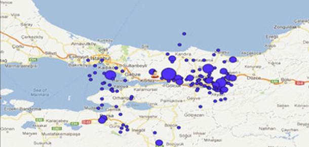 Deprem Bilgi Sistemi: Kandilli Rasathanesi'nden Deprem Takip Uygulaması