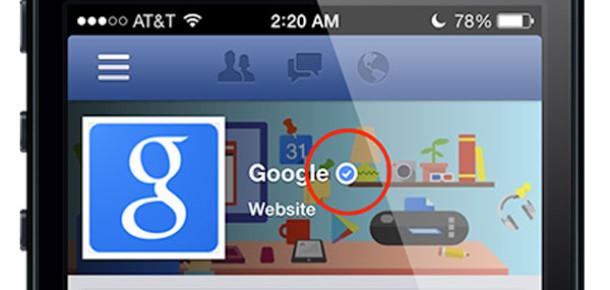 Facebook'un Onaylanmış Hesapları Mobilde de Kullanılabilecek