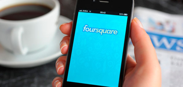 Foursquare'de Reklam Dönemi Başladı