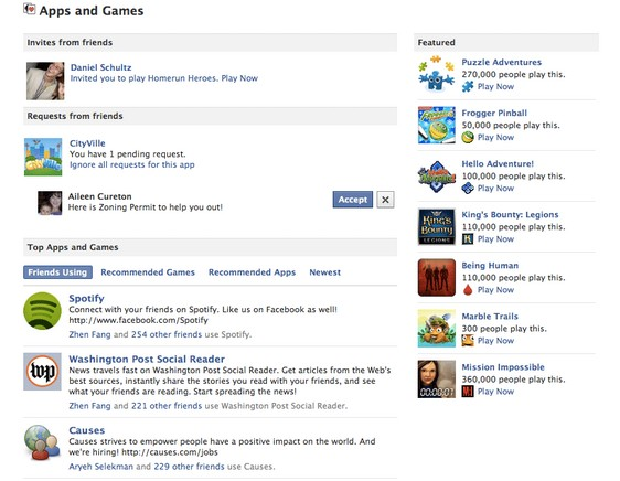 games-facebook-dashboard