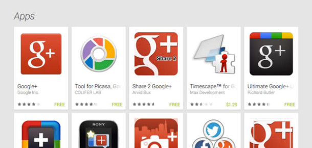 Google Play'in Web Arayüzü Yenilendi
