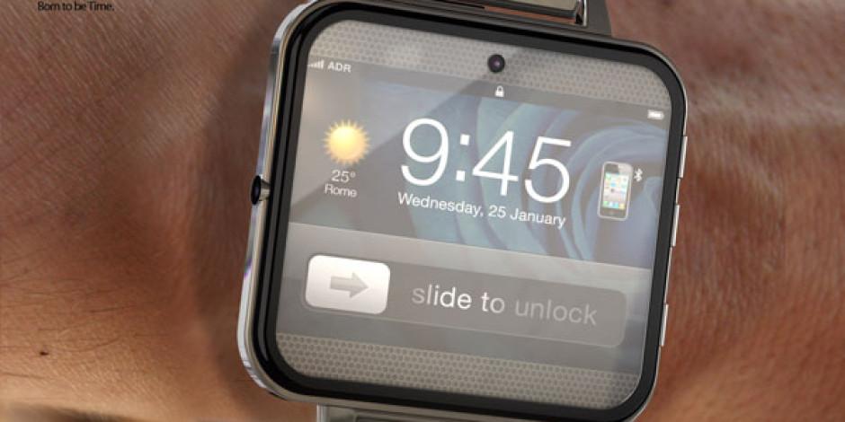 Apple iWatch'ın Çıkış Tarihini 2014'e Erteledi