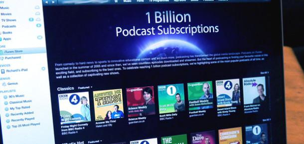 Apple'ın Podcast Servisi 1 Milyar Aboneye Ulaştı