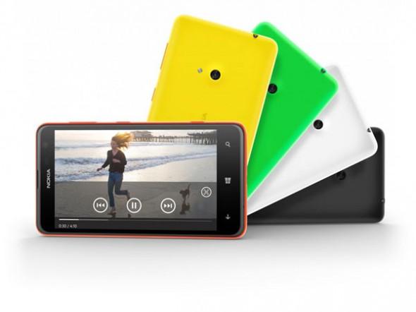 Nokia'nın En Geniş Ekranlı Modeli Lumia 625 Tanıtıldı