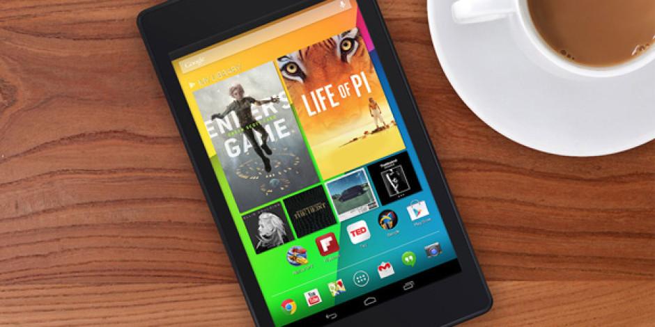 Google, Android 4.3 ile Birlikte İkinci Nesil Nexus 7'yi de Tanıttı