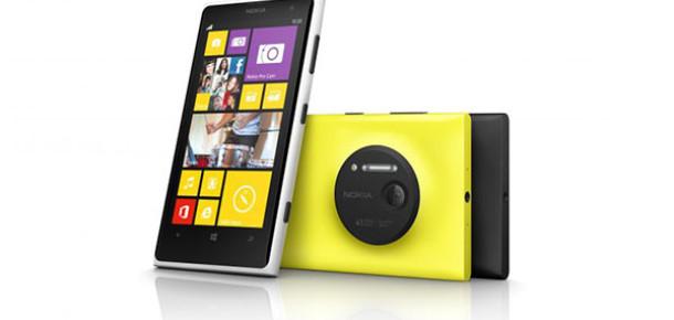 Nokia 41 MP Kameralı Yeni Akıllı Telefonu Lumia 1020'yi Tanıttı