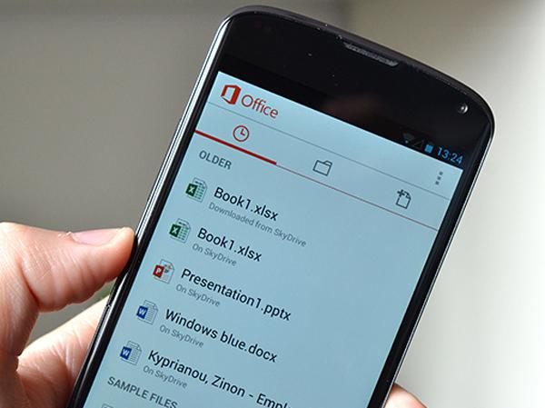 Microsoft Office'in Android Uygulaması Sonunda Yayınlandı