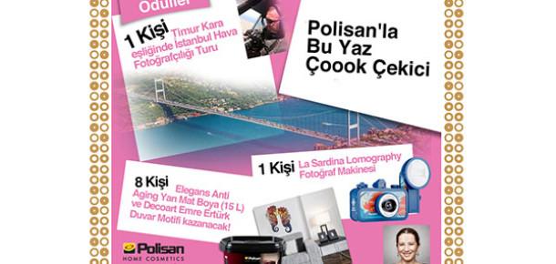 Polisan'dan Yaz Dönemi İçin Rengarenk Bir Instagram Yarışması