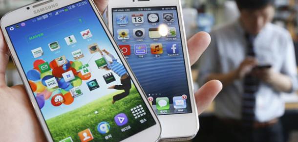 Samsung Asya'da Apple'a Göz Açtırmıyor