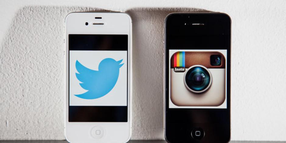 Twitter'da Instagram Paylaşımları Vine'ı Geçti