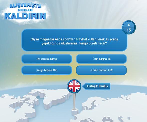 PayPal Facebook Oyunu