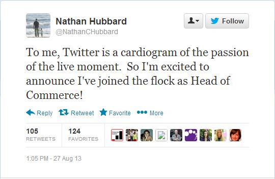 Twitter -NathanCHubbard