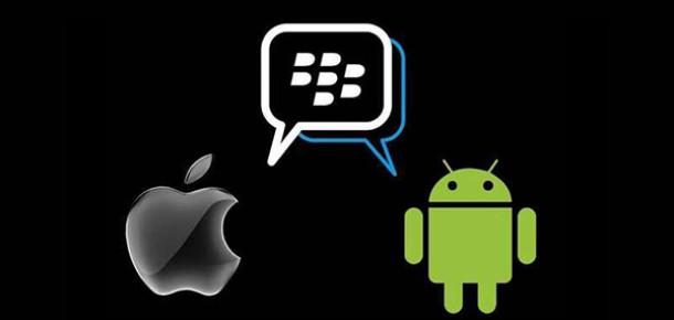 BlackBerry Messenger'ın Android ve iOS Uygulamaları Test Aşamasında