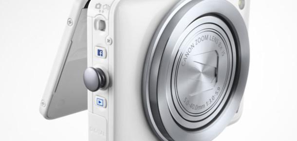 Canon'dan İlk Facebook Destekli Fotoğraf Makinesi: PowerShot N
