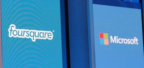 Foursquare Stratejik Yatırım İçin Microsoft İle Görüşüyor