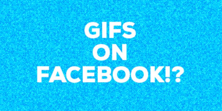GIF'ler Facebook'a Geri Döndü Ama…