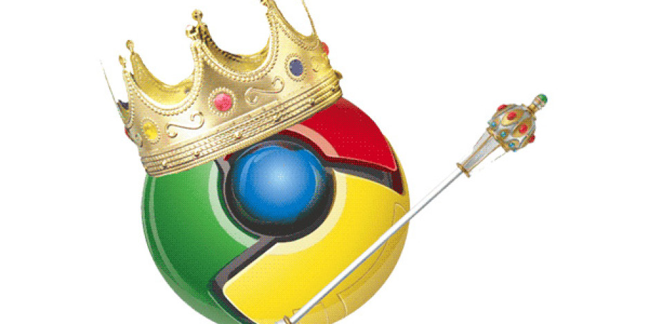 Google Chrome Dünyada ve Türkiye'de Açık Ara Önde