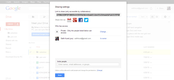 how to change owners in google drive