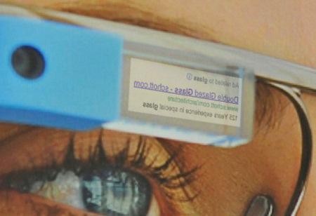 Google Glass Reklam