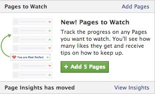 Pages to Watch