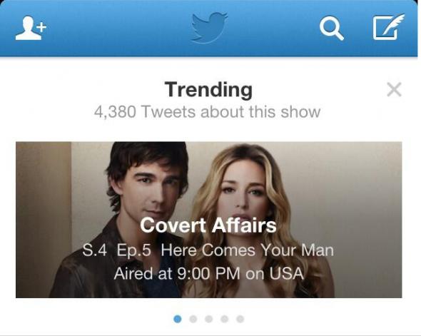 trending tv twitter