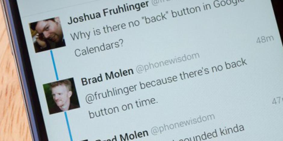 Twitter Sohbet Görünümünü Bağlantılı Tweet'ler İle Güncelledi
