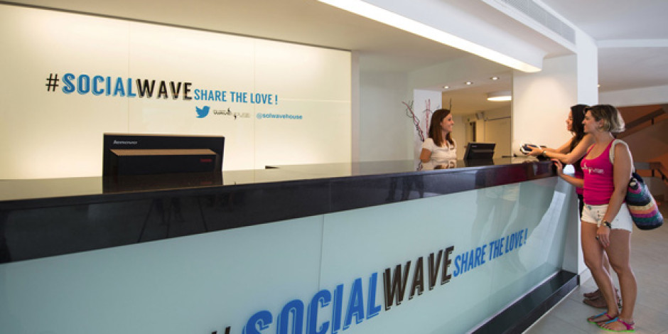 İlk Twitter Oteli Sol Wave House İspanya'da Kapılarını Açtı