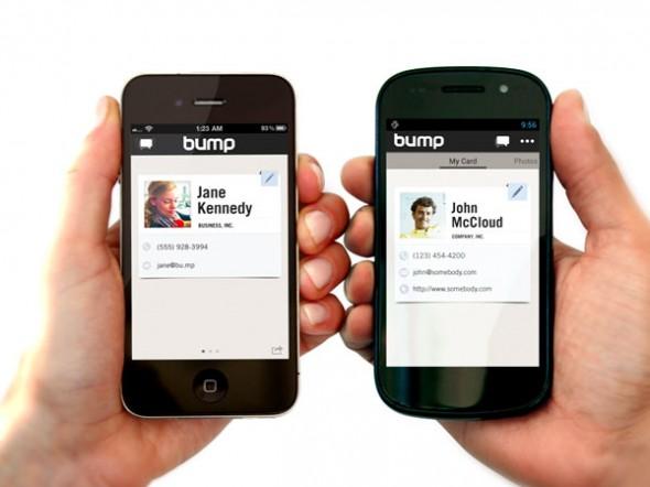 Google, Popüler Mobil Paylaşım Uygulaması Bump'ı Satın Aldı