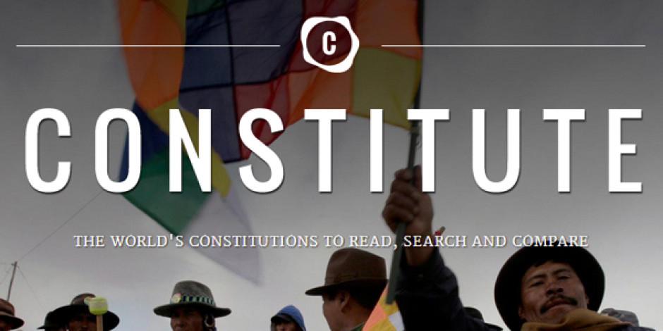 Google'dan Dünya Anayasalarını Araştırma ve Karşılaştırma Platformu: Constitute
