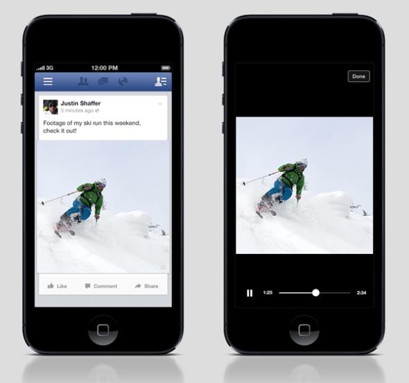 Facebook Otomatik Videolar