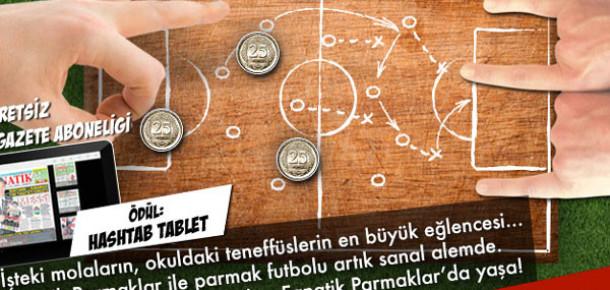 Parmak Futbolunu Facebook'a Taşıyan Uygulama: Fanatik Parmaklar