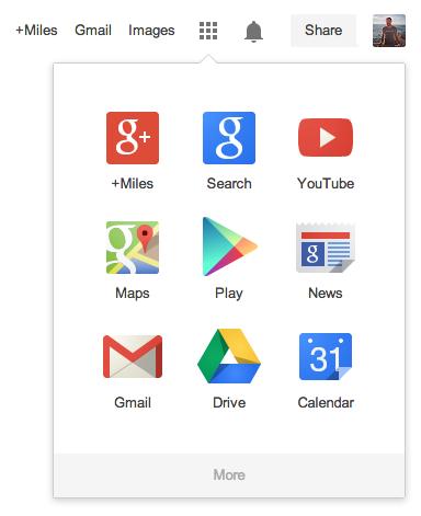 Google Uygulama Çubuğu