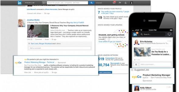 LinkedIn Sponsorlu İş İlanları
