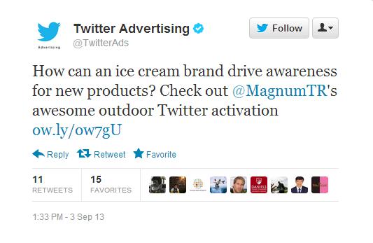 TwitterAds Magnum TR Tweeti